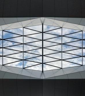 Central Station (Hauptbahnhof), Vienna, Austria (PPL1-Corrected)