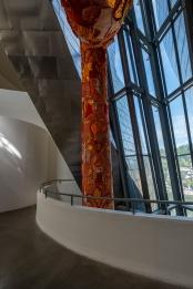"""""""Egeria"""", by Joana Vasconcelos, Guggenheim Museum, Bilbao (PPL2-Enhanced)"""
