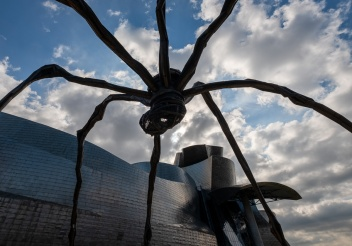 """Maman"", by Louise Bourgeois, Guggenheim Museum, Bilbao, Spain (PPL2-Enhanced)"
