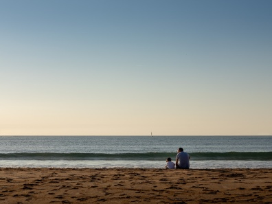 Gabriel and Verne at Gorliz Beach, Basque Country, Spain (PPL3-Altered)