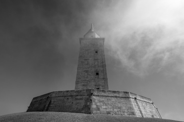 Tower of Hercules, A Coruña, Galicia, Spain (PPL3-Altered)