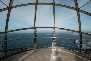 Panoramic lift to St. Peter's Hill, A Coruña, Galicia, Spain (PPL1-Corrected)