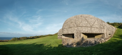 Old bunker at St. Peter's Hill, A Coruña, Galicia, Spain (PPL3-Altered)