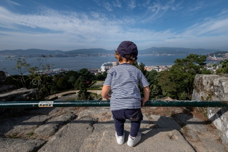 Gabriel at the Castro Fortress, Vigo, Galicia, Spain (PPL1-Corrected)