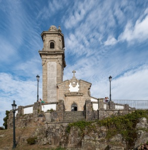 Hermitage of Nosa Señora da Guía, Vigo, Galicia, Spain (PPL3-Altered)