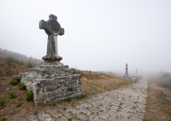 Viacrucis do Monte Santa Trega, A Guarda, Galicia, Spain (PPL1-Corrected)